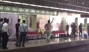 فیلم/ چاقوکشی خونین در مترو شهر ری