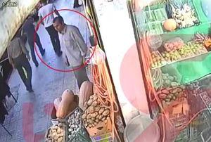 فیلم/ اولین تصاویر از قاتل آتنا در مقابل مغازهاش