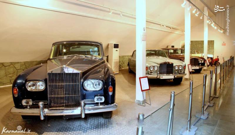 رولز رویس فانتوم ۵ موجود در کاخ موزه سعد آباد