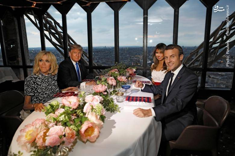 شام خصوصی در برج ایفل به مناسبت روز ملی فرانسه
