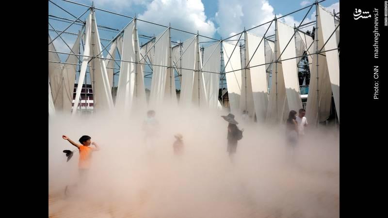طرح «ایستاده در غبار» در نمایشگاه تجسمی تایوان