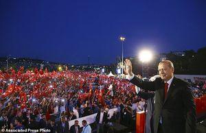 عکس/ نخستین سالگرد کودتای نافرجام ترکیه,