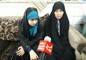 همسر شهید علیرضا بابایی