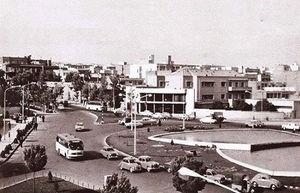 عکس/ میدان ولیعصر سال 1342
