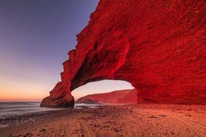 عکس/ ساحل شگفت انگیز مراکش