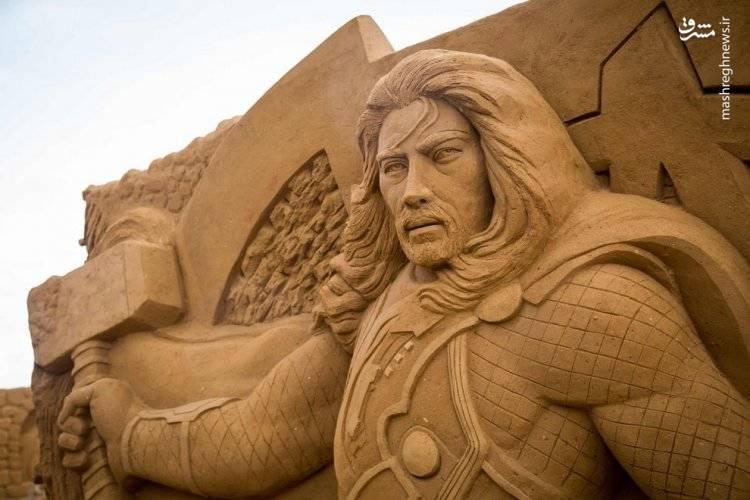 جشنواره مجسمه های شنی دیزنی لند