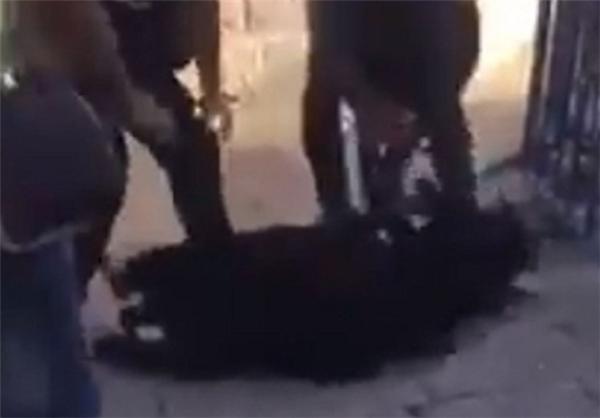 تعرض نظامیان صهیونیست به نگهبانان زن مسجدالاقصی +عکس