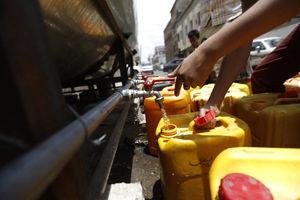 عکس/ بحران  آب آشامیدنی در یمن,
