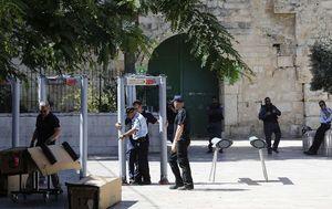 تدابیر امنیتی در مقابل مسجدالاقصی