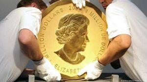 عکس/ بزرگترین سکه جهان که به سرقت رفته است
