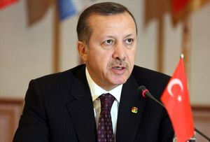 فیلم/ سقوط کوادکوپتر در سخنرانی اردوغان در سالگرد کودتا