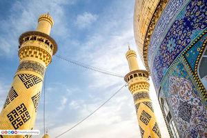 تصاویر زیبا از گلدستههای حرم حضرت ابوالفضل(ع)