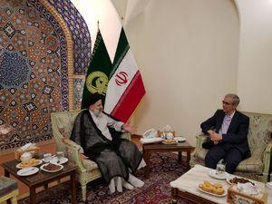 عکس/ دیدار سرلشکر باقری با حجت الاسلام رئیسی