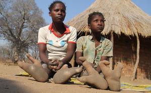 عکس/ قبیلهی پاخرچنگی ها در آفریقا