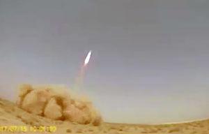 فیلم/ آزمایش موشک بومی «یقین1» در عراق