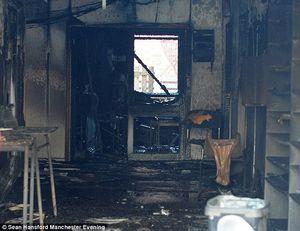 آتش زدن مسجدی در انگلیس