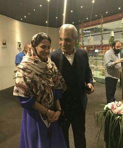 عکس/ اولین تصویر از مهران مدیری و دخترش