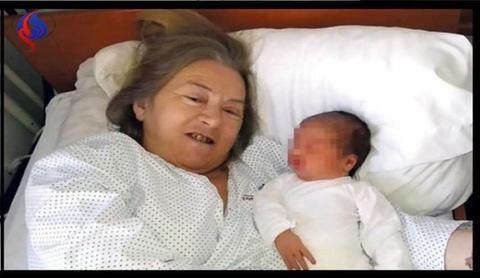 مادر شدن زن 60 ساله صربستانی پس از 20 سال درمان
