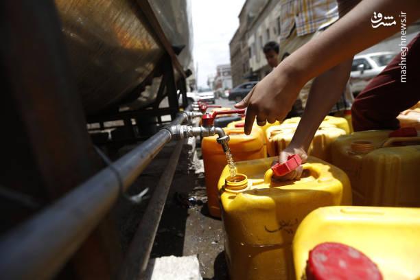 بحران  آب آشامیدنی در یمن