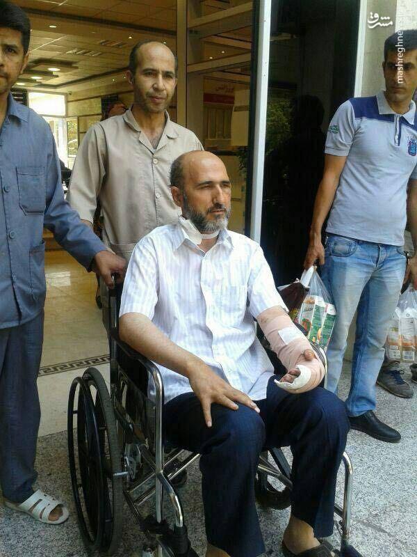 روحانی حادثه متروی شهرری از بیمارستان مرخص شد