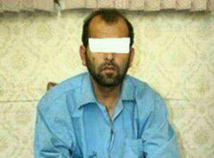 عکس/ اولین تصویر از قاتل آتنا در لباس زندان