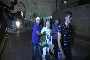 زخمی شدن خطیب مسجد الاقصی/یورش نظامیان صهیونیست به فلسطینی ها