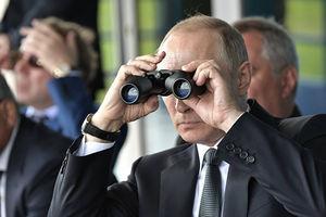 تصویر خاص مجله «تایم» از پوتین +عکس