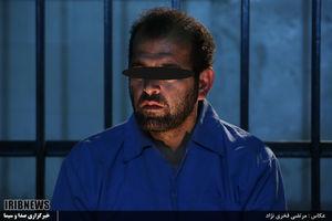 عکس/ قاتل آتنا در زندان