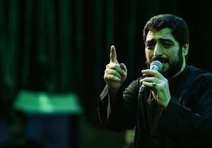 روضه حضرت رقیه سید مجید بنی فاطمه شب سوم محرم 96