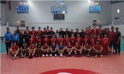 برتری تیم ملی والیبال نوجوانان مقابل تونس