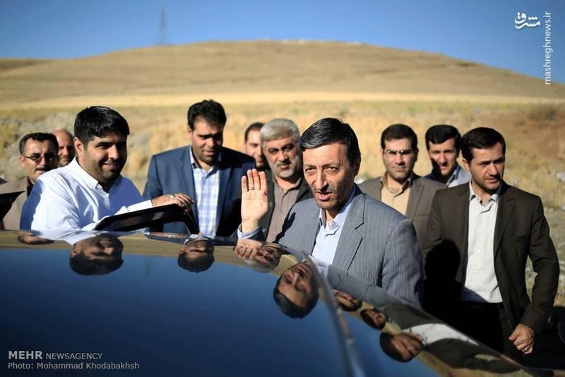 عکس/ سفر رئیس کمیته امداد به استان لرستان