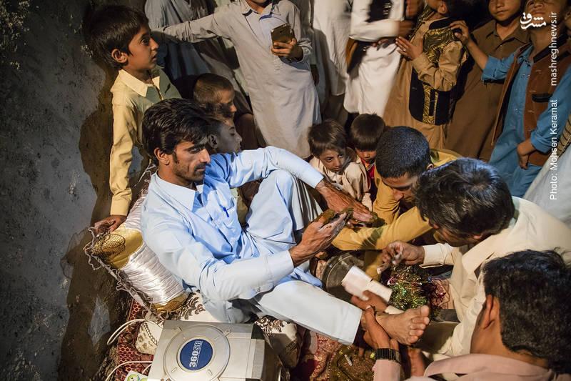 تجلی عزت مردمان سیستان به هنگام تنگدستی +فیلم