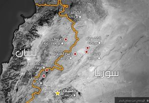 آخرین وضعیت جبهه «قلمون»/پایان مرحله نخست عملیات «عرسال» در شرق لبنان