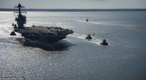 آمریکا ناو مجهز به سامانه پدافند موشکی بالستیک در آبهای ژاپن مستقر میکند