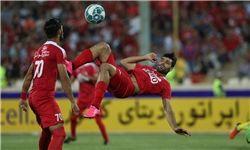 پیروزی پرسپولیس در نیمه اول سوپر جام