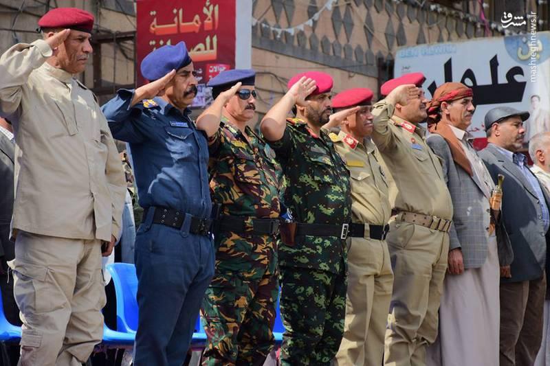 رژه نیروهای یمنی