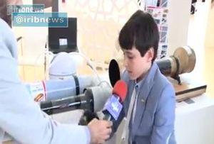 فیلم/ نوجوان نابغه ایرانی در نمایشگاه هوایی روسیه