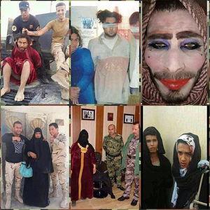 """عکس/ داعشیهایی که یک شبه """"زن"""" شدند"""