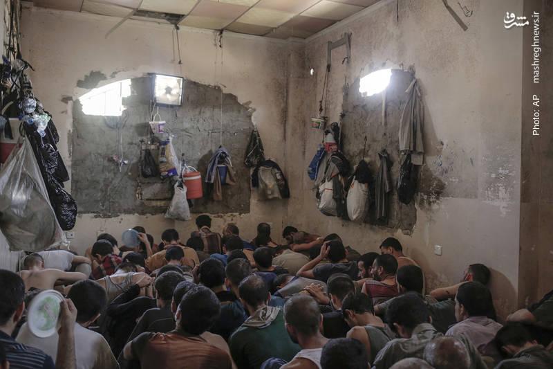 بازداشت افراد مشکوک به عضویت در داعش در موصل