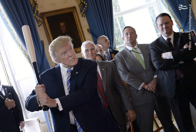 نمایش ترامپ در کاخ سفید برای حمایت از تولیدات آمریکایی