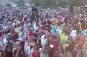فیلم/ قرائت دعای فرج توسط مسلمانان نیجریه