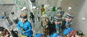 عکس/ جاسازی مشروبات الکلی در داخل عروسک