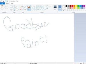 پایان پشتیبانی مایکروسافت از نرم افزار پینت