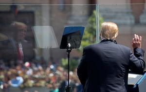 محبوبیت ترامپ از بیل کلینتون هم کمتر شد