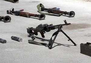 فیلم/کشف تسلیحات ارسال شده توسط اردن برای تروریستهای سوری