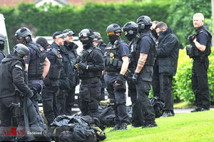 عکس/ گروگانگیری مسلحانه در منچستر