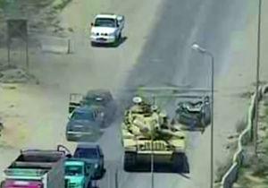 فیلم/  انفجار خودروی داعش پس از له شدن زیر تانک