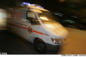 فوت بیمار به علت عدم توجه خودرو به آژیر آمبولانس +فیلم