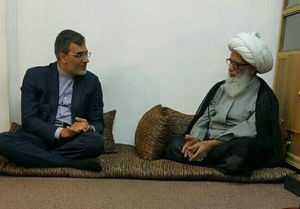 دیدار معاون وزیر خارجه با مراجع عظام تقلید در نجف