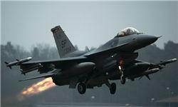 فرود ۱۰ جنگنده آمریکایی در غرب موصل